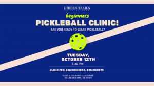 Pickleball Clinic for Beginners